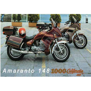 1000 CALIFORNIA 1988 California III Carburatori Carenato